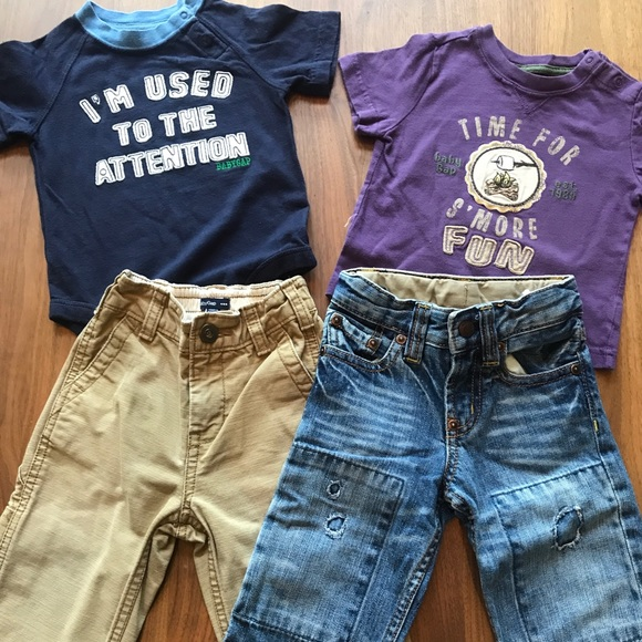 046e6ea1 Baby Gap Lot Pants And Shirts 12 18 Months